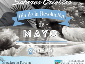 """Un 25 de mayo con """"Sabores Criollos"""""""