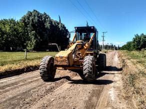 Se trabaja en los caminos rurales