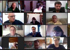 Orazi participó de videoconferencia con Carreras, quien informó sobre gestiones en Buenos Aires