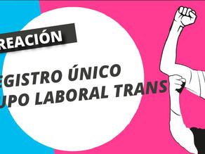 Registro único laboral para personas trans
