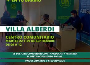 ANSES en Villa Alberdi: atenderá el 22 y 29 de septiembre