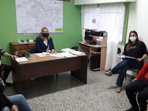 La Secretaria de Desarrollo Social se reunió con el Consejo de Personas con Discapacidad