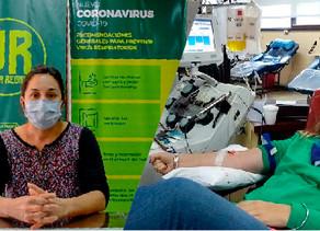Villa Regina inició las primeras experiencias de donación de plasma