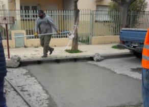 Reparación de pavimento en más sectores de Regina