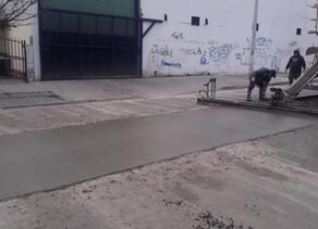 A buen ritmo, continúa la reparación de calle Tacuarí