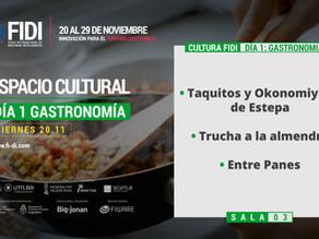 Feria FIDI: Regina presenta hoy tres platos de chefs locales