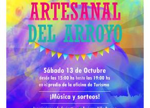 NUEVA EDICIÓN DE LA FERIA ARTESANAL DEL ARROYO