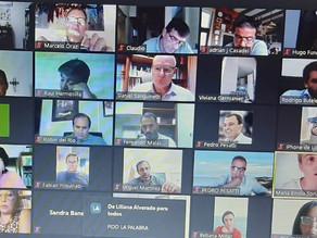 Orazi participó de videoconferencia con la gobernadora e intendentes