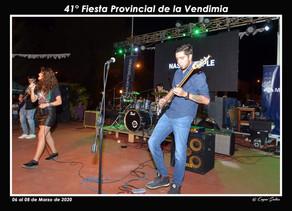 La Vendimia lució la calidad artística de músicos reginenses e invitados