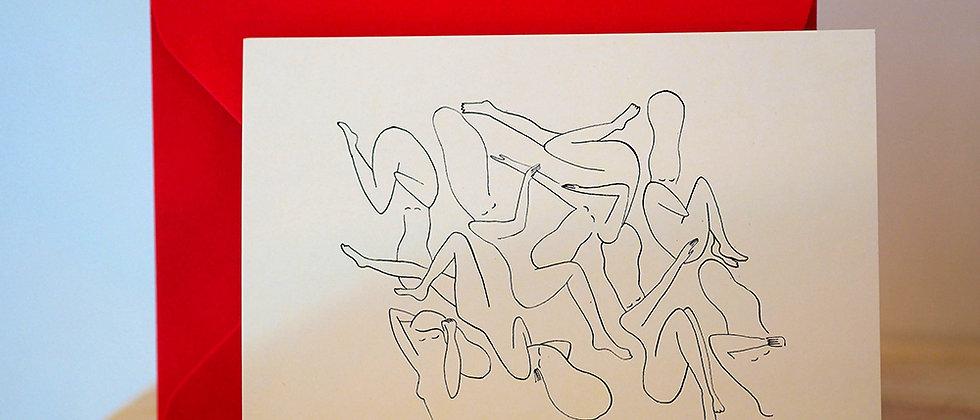 Carte postale « Rêve de coton »