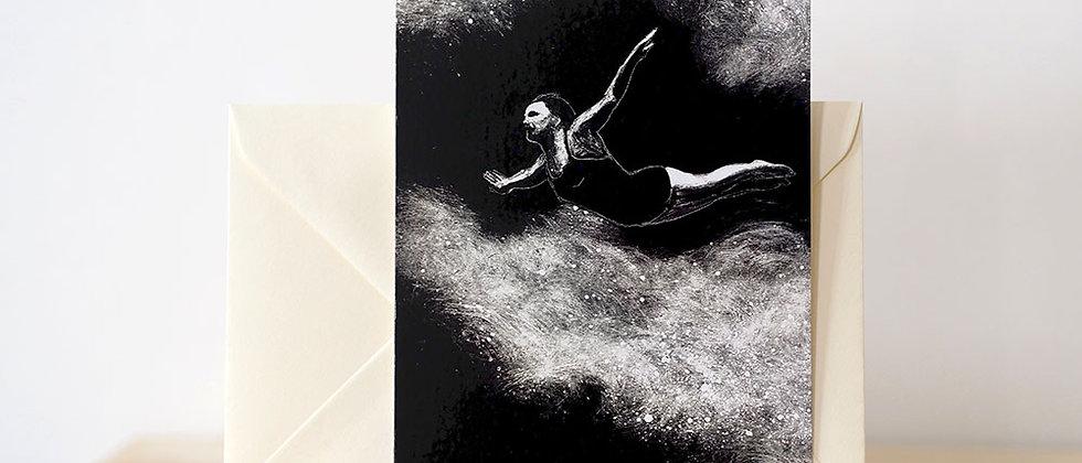 Carte postale « Le saut de l'ange »