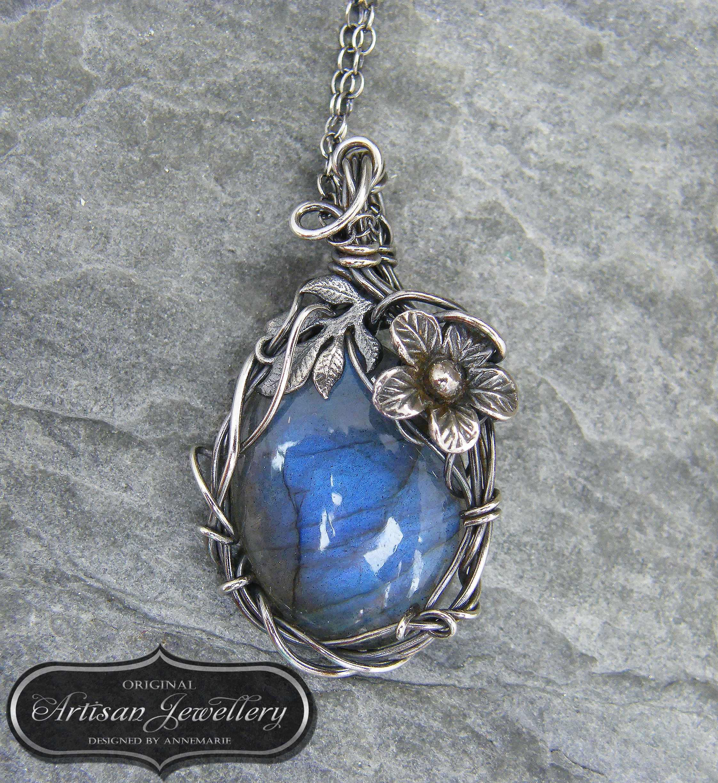 Silver fairy tale pendant