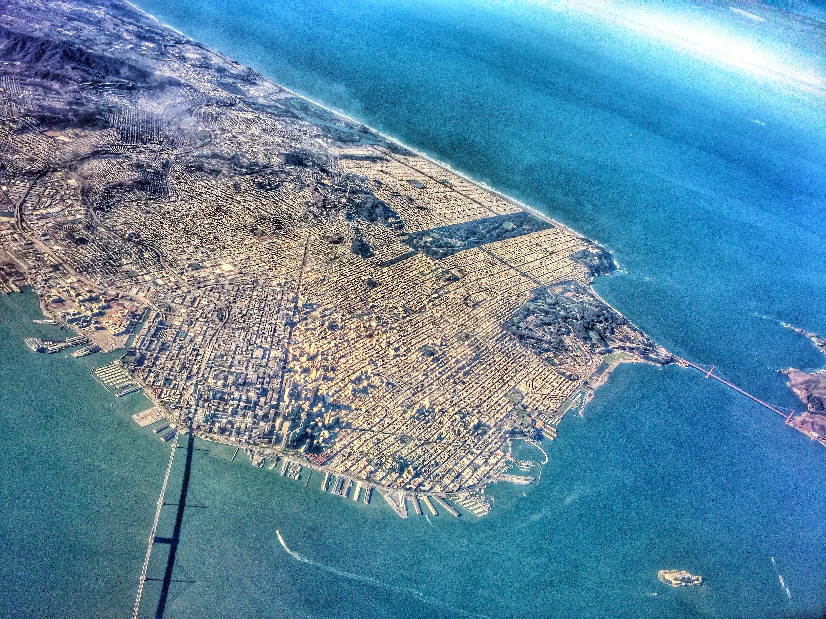 Peninsula Aerial Shot