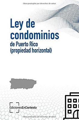 Ley de condominios de Puerto Rico (propiedad horizontal)