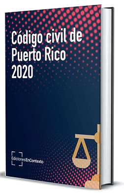Código civil de Puerto Rico de 2020 (tapa dura)