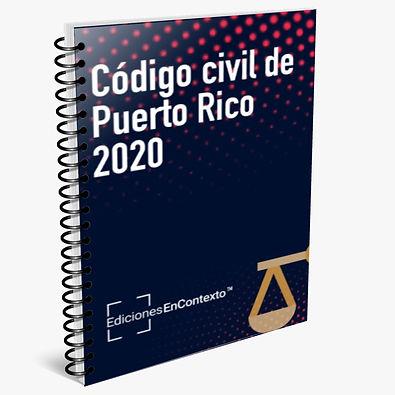 Código civil de Puerto Rico de 2020 (en espiral)