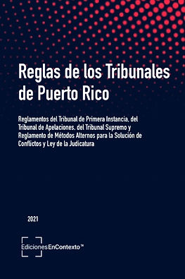 Reglas de los Tribunales de Puerto Rico