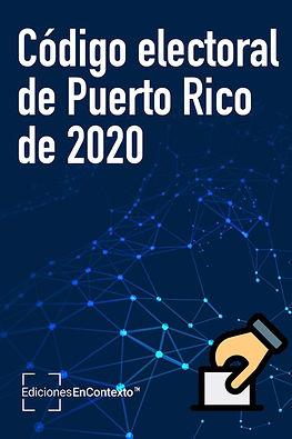 Código electoral de Puerto Rico de 2020