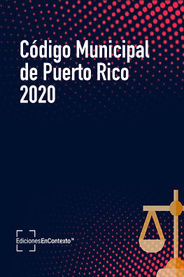 Código Municipal de Puerto Rico 2020