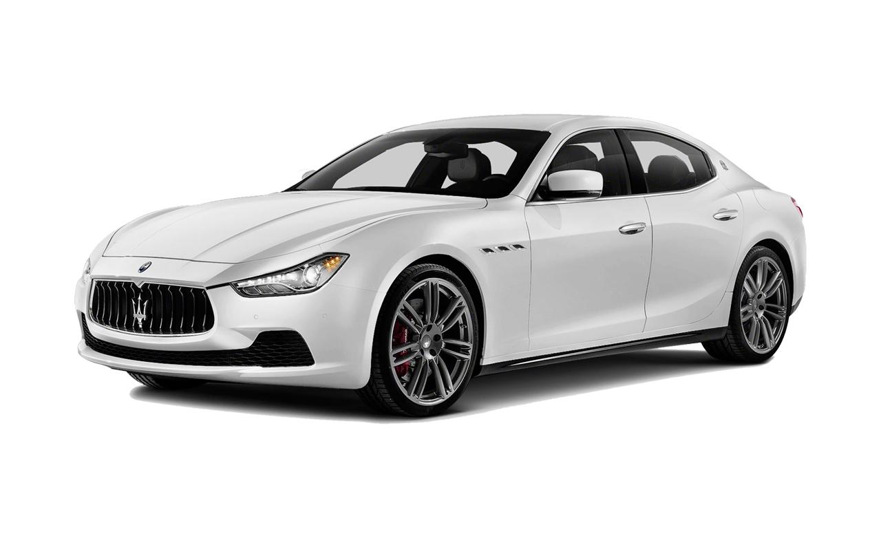 Maserati Quattroporte White