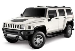 Hummer H3 White