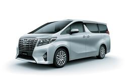 Toyota Alphard 2017 Silver