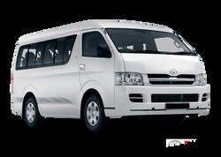 Toyota Hiace White 2