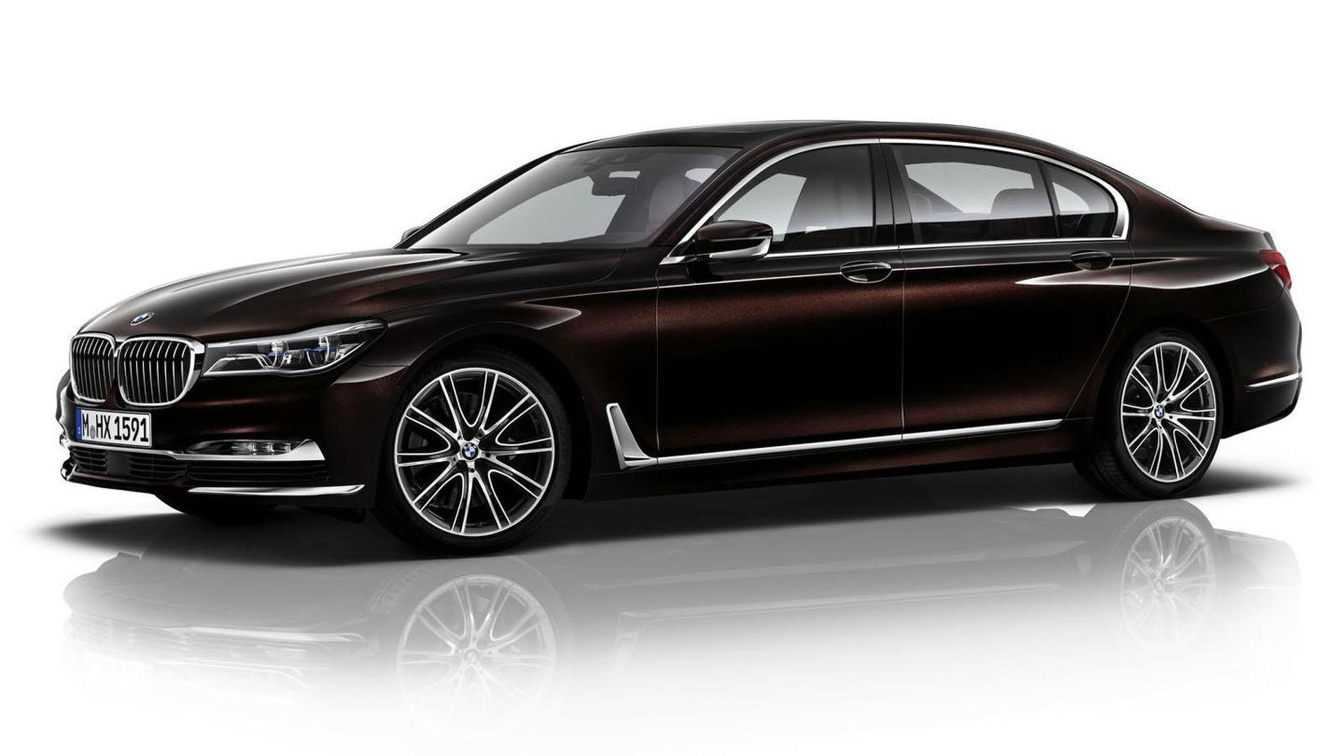 BMW 730Li Red Maroon
