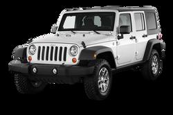 Jeep Wrangler 4 Doors White 2