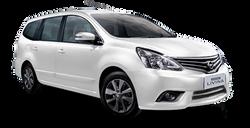 Nissan Grand Livina White