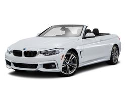 BMW 428i White Convertible