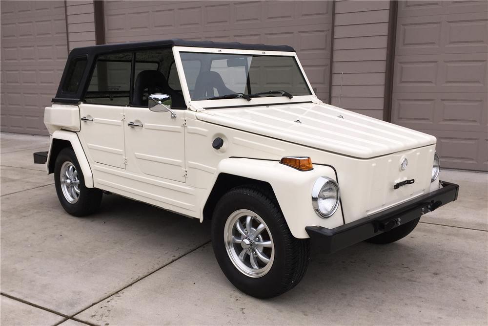 VW 181 Safari White