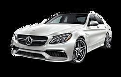 Mercedes Benz C Class Pearl White