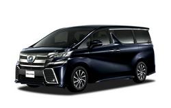Toyota Vellfire 2017 Black