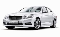 Mercedes Benz E Class White