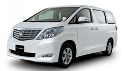 Toyota Alphard White