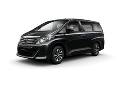 Toyota Alphard 2014 Black