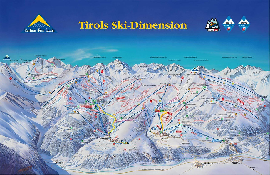 Tirols Ski-Dimension Serfaus-Fiss-Ladis
