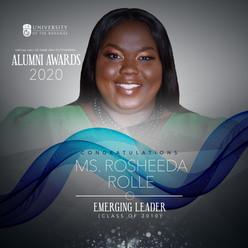 Alumni Awards 2020 Rosheeda Rolle (1) (1