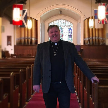 Rev. Dr. Andrew Human delivers lively sermons Sunday mornings at 10:30am at St. Andrew's Church in Port Credit.