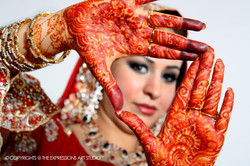 The Bride and Henna