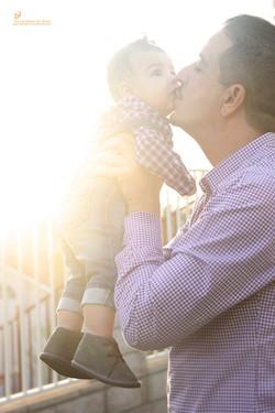 son_dad_golden_hour