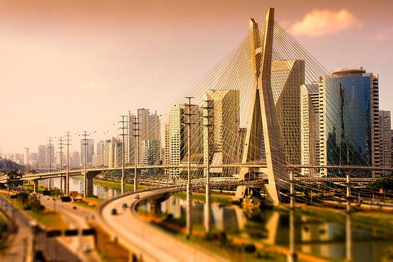 Cidade de São Paulo - Ponte Estaiada
