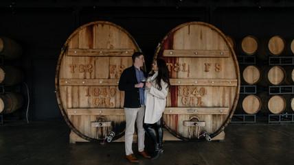 Katie & Kevin   Chateau Elan Winery Proposal Braselton, GA