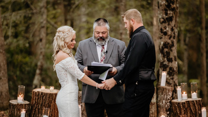 Meri & Brett   Ernul, NC Backyard Wedding