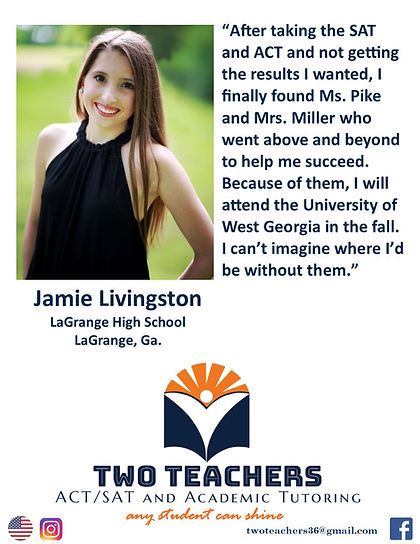 Two Teachers Testimonials Jamie Livingst