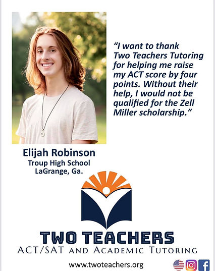 TwoTeachers Testimonials Elijah Robinson