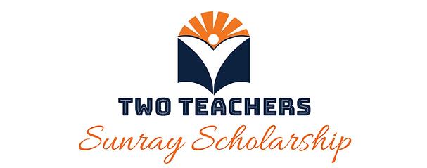 Two Teachers Sunray Scholarship Logo.png