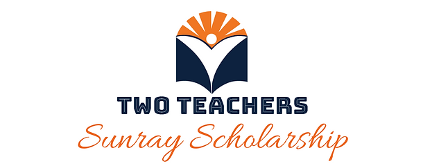 Two Teachers Sunray Scholarship Logo.png