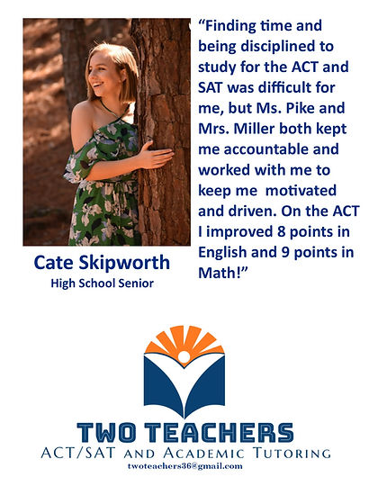 Two Teachers Testimonials Cate Skipworth